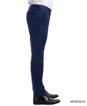 Sean Alexander Indigo Performance Stretch Dress Pants For Men