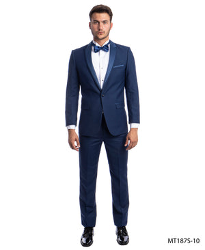 Cobalt Tuxedo Suit For Men Formal Tuxedos For All Ocassions MT187S-10