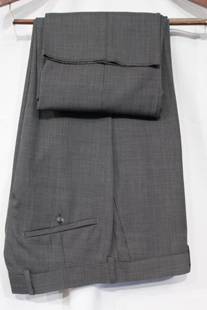 Grey Birdseye Suit For Men Wool Suits For All Ocassions MW115