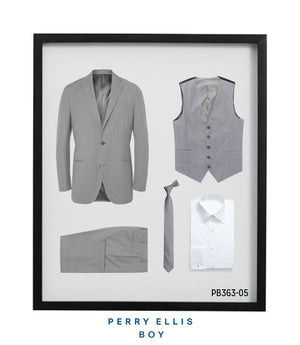 Perry Ellis Boys Suit Lt Grey Suits For Boy's