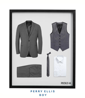 Perry Ellis Boys Suit Light Grey Suits For Boy's