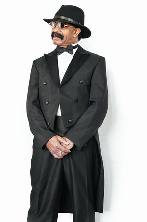 Black Tuxedo With Tail - Dennis Graham Collection