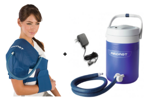 Aircast Cryocuff Ic Shoulder And Elbow My Cold Therapy My Cold