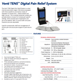 Venti TENS Digital Pain Relief System