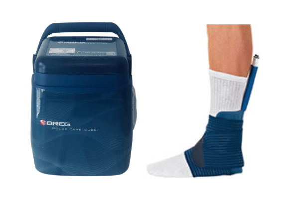 Breg Polar Care Cube Ankle - My Cold Therapy