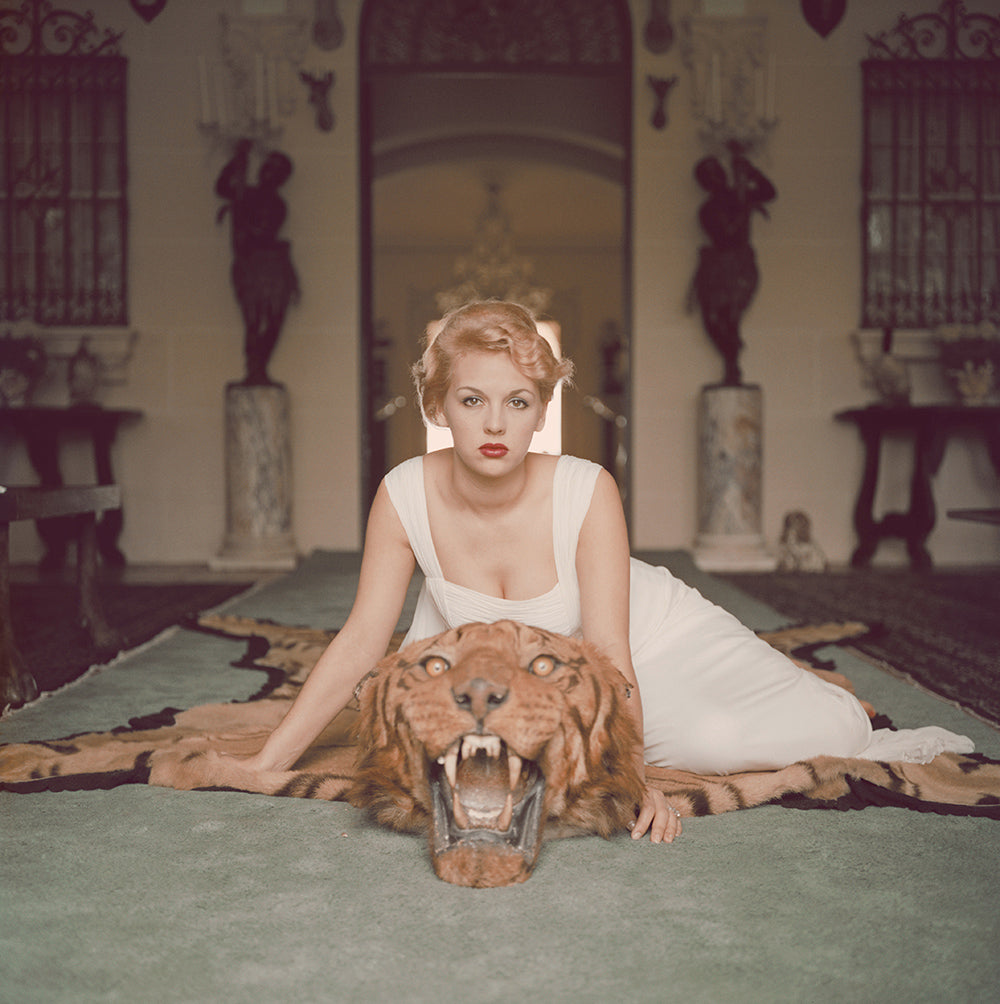 Beauty and the Beast Print by Slim Aarons