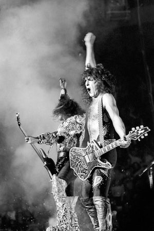 Kiss' Performing-Michael Ochs Archive-Fine art print from FINEPRINT co
