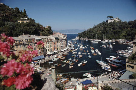 Harbour Area Portofino by Slim Aarons - FINEPRINT co
