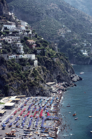 Beach In Positano-Slim Aarons-Fine art print from FINEPRINT co