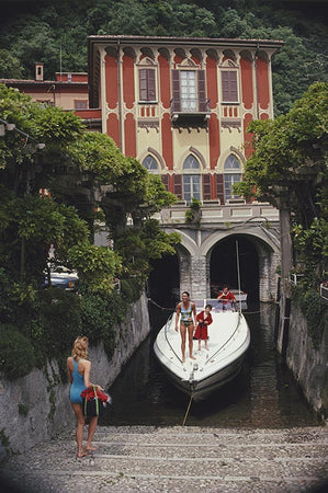 Tullio Abbate-Slim Aarons-Fine art print from FINEPRINT co