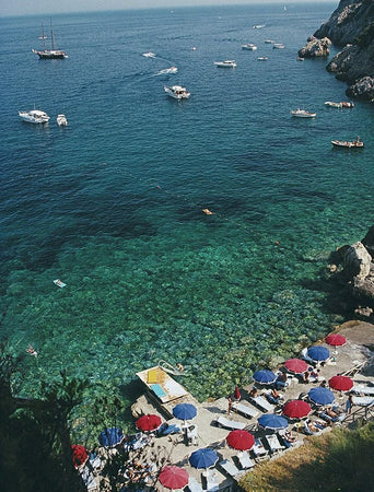 View From Il Pellicano-Slim Aarons-Fine art print from FINEPRINT co
