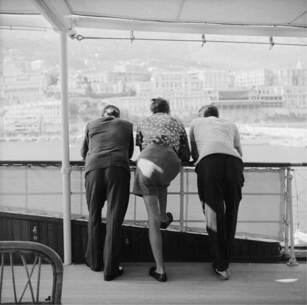 Onassis On Board by Slim Aarons - FINEPRINT co