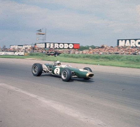 Jack Brabham Racing Driver-Mid-Century Colour-Fine art print from FINEPRINT co