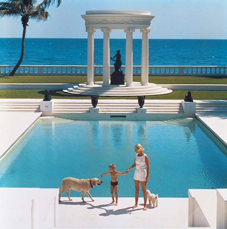 Nice Pool-Slim Aarons-Fine art print from FINEPRINT co