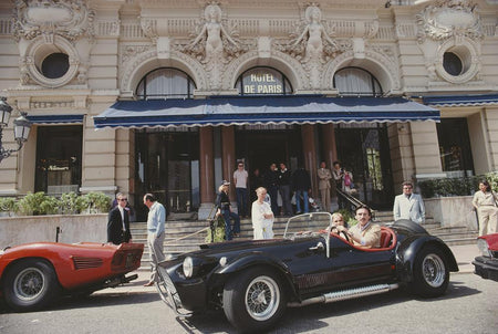 Hotel De Paris In Monaco by Slim Aarons - FINEPRINT co