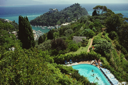 Portofino Villa-Slim Aarons-Fine art print from FINEPRINT co