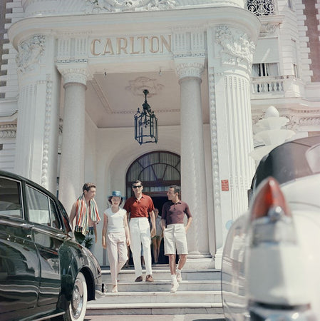 Staying At The Carlton-Slim Aarons-Fine art print from FINEPRINT co