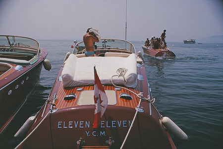 Motorboats In Antibes-Slim Aarons-Fine art print from FINEPRINT co