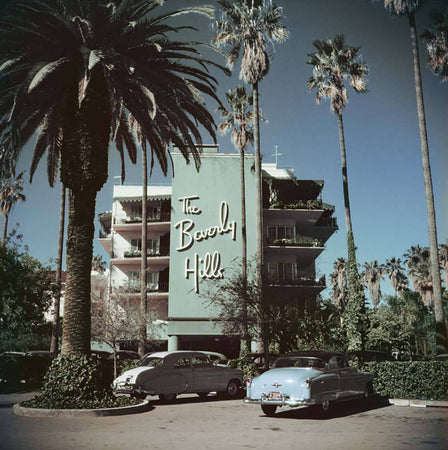 Beverly Hills Hotel-Slim Aarons-Fine art print from FINEPRINT co