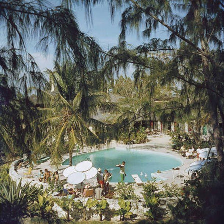 Eleuthera Pool Party-Slim Aarons-Fine art print from FINEPRINT co