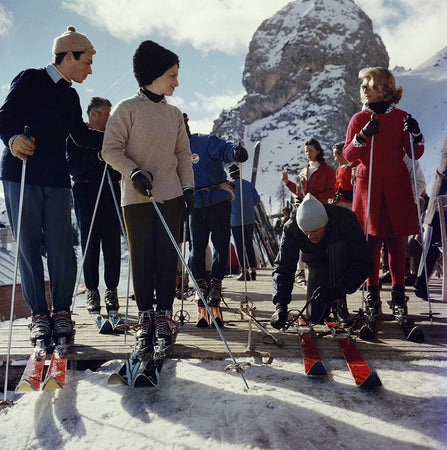 Cortina D'Ampezzo-Slim Aarons-Fine art print from FINEPRINT co