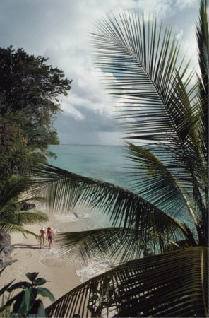 Barbados Beach by Slim Aarons - FINEPRINT co