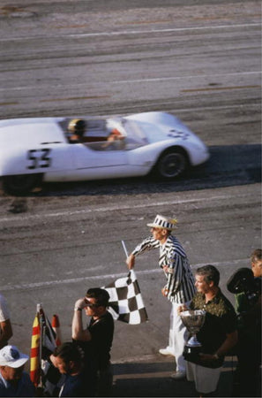 Checkered Flag by Slim Aarons - FINEPRINT co