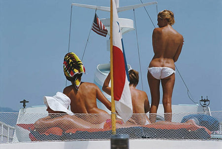 Yacht Holiday by Slim Aarons - FINEPRINT co