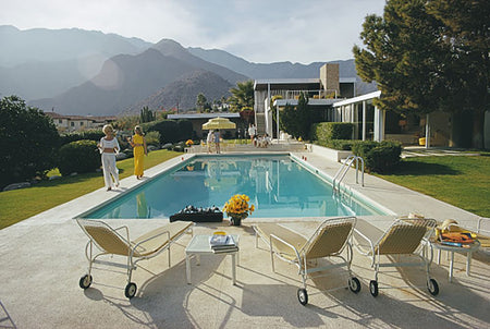 Poolside Catwalk-Slim Aarons-Fine art print from FINEPRINT co
