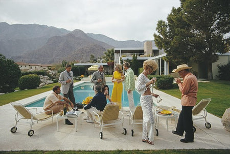 Kaufmann Desert House-Slim Aarons-Fine art print from FINEPRINT co