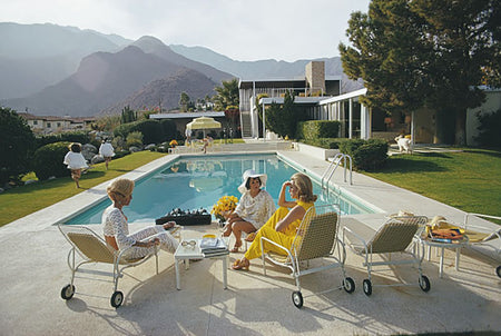 Poolside Gaze-Slim Aarons-Fine art print from FINEPRINT co