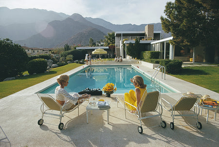 Poolside Pairs-Slim Aarons-Fine art print from FINEPRINT co