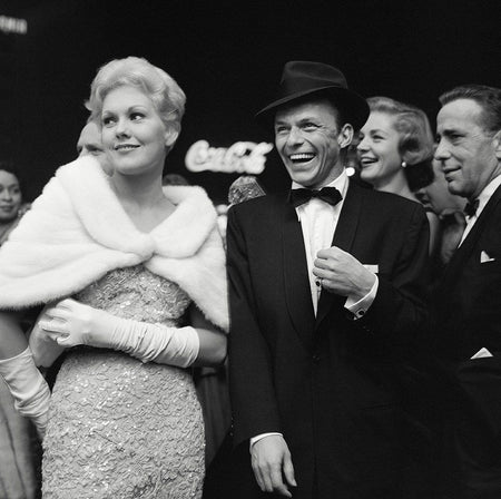 "Kim Novack, Frank Sinatra, Lauren Bacall and Humphrey Bogart Attend ""The Desperate Hours"""