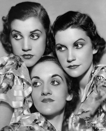 Andrews Sisters Portrait Session
