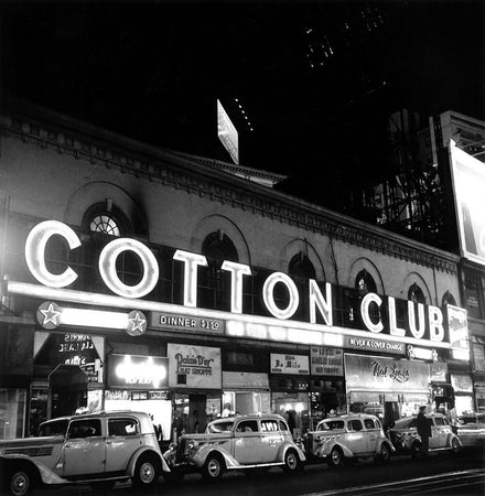 Cotton Club Marquee In NY
