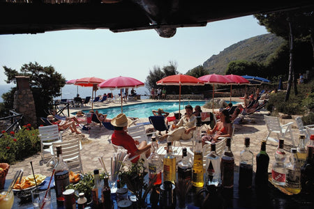 Poolside Bar-Slim Aarons-Fine art print from FINEPRINT co