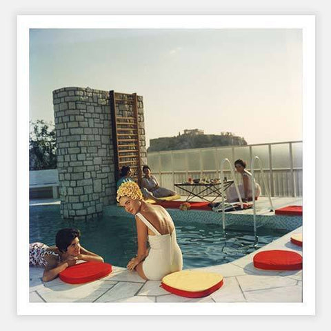 Penthouse Pool by Slim Aarons - FINEPRINT co