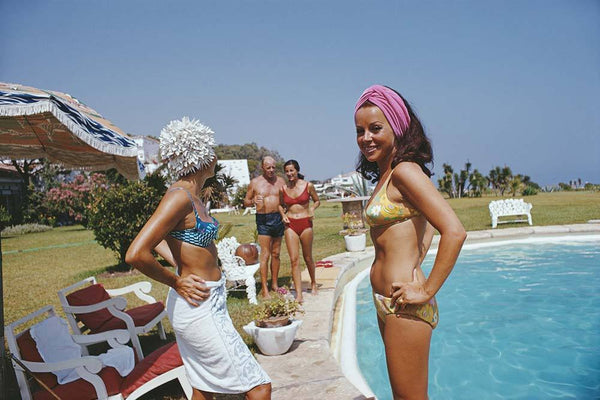 At The Von Pantzs by Slim Aarons - FINEPRINT co