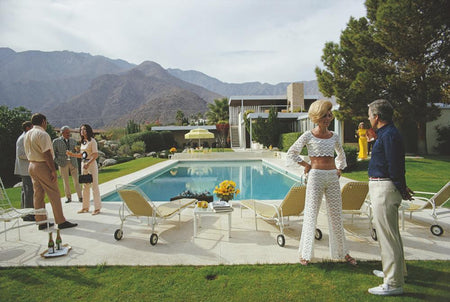 Kaufmann Desert House III by Slim Aarons - FINEPRINT co