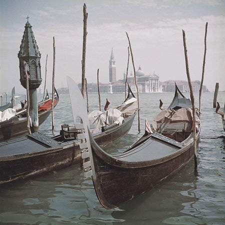 Venice Gondolas-Slim Aarons-Fine art print from FINEPRINT co