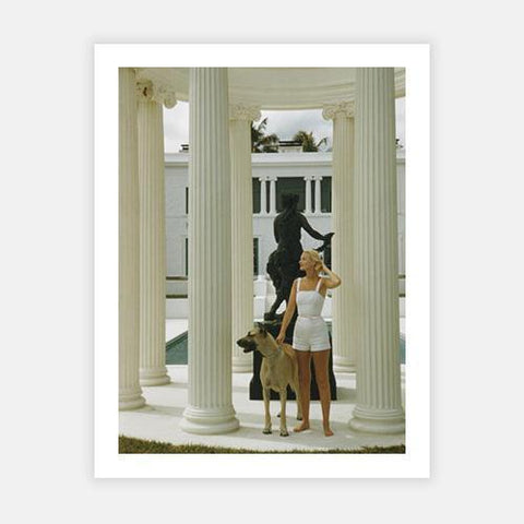 C. Z. Guest by Slim Aarons - FINEPRINT co