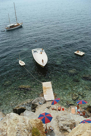 Porto Ercole by Slim Aarons - FINEPRINT co