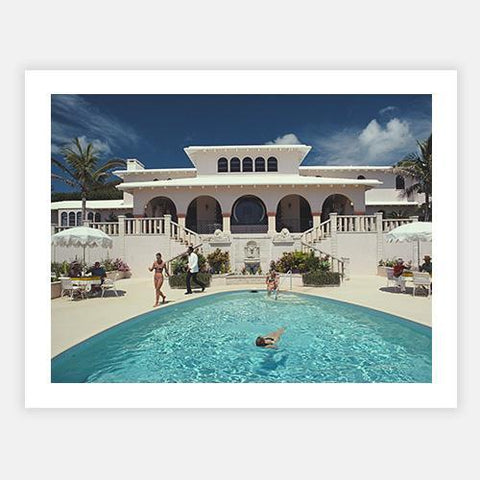 McMartin Villa by Slim Aarons - FINEPRINT co