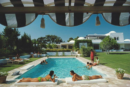 Pool At Sotogrande by Slim Aarons - FINEPRINT co