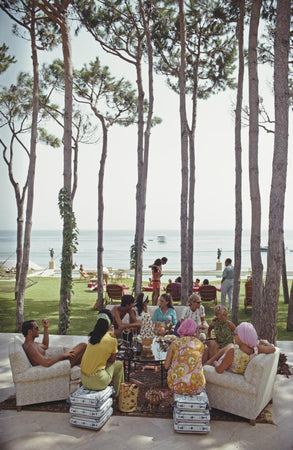 Marbella House Party by Slim Aarons - FINEPRINT co