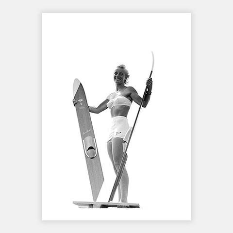 Waterskis by FINEPRINT co - FINEPRINT co