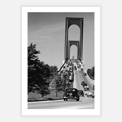 Whitestone Bridge by FINEPRINT co - FINEPRINT co