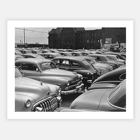 The Car Lot by FINEPRINT co - FINEPRINT co