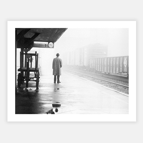Lonely Commuter by FINEPRINT co - FINEPRINT co
