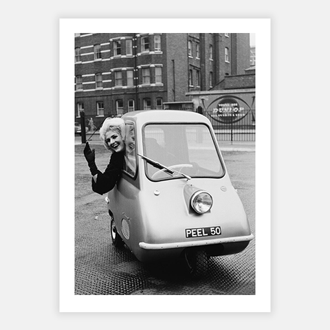 Peel P50 Microcar by FINEPRINT co - FINEPRINT co